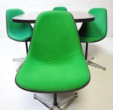 ultra green herman miller chairs and eames table vine mid century antique