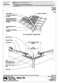 branz details 5 03 13 metal and membrane options valley gutter roofing metal tile