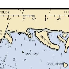 Pine Island Sound Chart Pine Island Sound Chart 11427 Sanibel Island To Cayo Costa