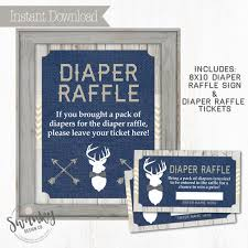 images of raffle tickets rustic deer baby diaper raffle tickets navy and burlap gray