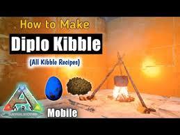how to make diplodocus kibble ark