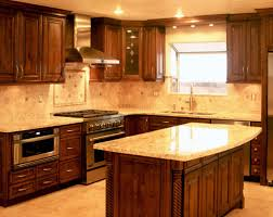 kitchen decor with light dark epic kitchen countertop ideas with oak