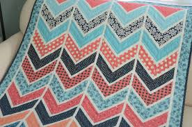 Chevron Quilt Pattern Beauteous Hyacinth Quilt Designs Baby Chevron Quilt