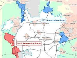 city staff makes the case for annexation planrivard report San Antonio City Limits Map the city has begun public hearings on limited purpose annexation of three areas (in blue san antonio city limits map 2016