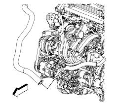 2000 chevy cobalt secondary air injection hose to pump 06 a w l61 repair instructions secondary air injection pump