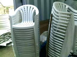 stackable plastic patio chairs outdoor awesome for green