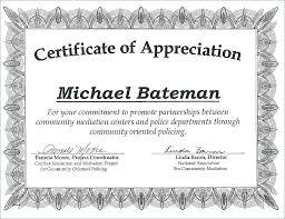 Volunteer Certificate Of Appreciation Templates Printable Volunteer Event Invitation Appreciation Wording