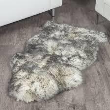 twilight sheepskin rug 2x3 5 ft