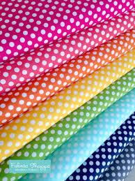 Best Seller, Rainbow Polka Dot Fabric, Cotton Fabric by the Yard ... & Best Seller, Rainbow Polka Dot Fabric, Cotton Fabric by the Yard, Robert  Kaufman Adamdwight.com