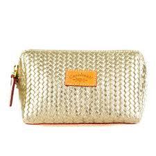 Designer Leather Makeup Bag Cavalcanti Italian Made Small Makeup Bag My Makeup Bag