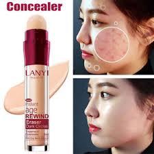 details about face concealer pen long lasting waterproof hide blemish pore dark circles makeup