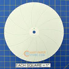 Taylor Charts Taylor 500p1225 3 Circular Charts