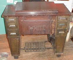 Antique White Sewing Machine Serial Numbers