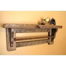bath towel rack shelf for bathrooms bathroom shelves and wooden