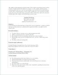 Sample Resume Certified Nursing Assistant Best of Certified Nursing Assistant Resume Samples Administrativelawjudge