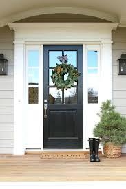 black door paint these are the best front door paint colors to add to your curb black door paint