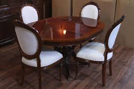 Dining Room  Round Dining Room Table With Leaf Awesome Dining Small Oval Dining Table With Leaf