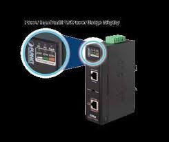 Industrial <b>Single</b>-<b>Port 10/100</b>/<b>1000Mbps</b> 802.3bt PoE Injector (60 ...