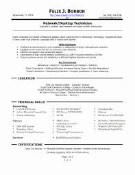 Fair Resume For It Support Specialist With Customer Technical