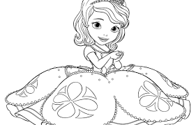 Best Of Princess Sofia Coloring Pages Design Printable Coloring Sheet