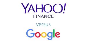 Yahoo Finance vs. Google Finance – Get ...