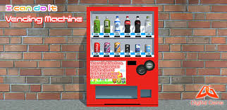Gene The Vending Machine Adorable I Can Do It Vending Machine Digital Gene