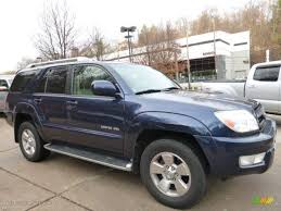 2004 Pacific Blue Metallic Toyota 4Runner Limited 4x4 #109007688 ...