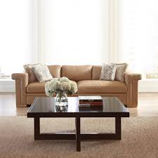 carson leather furniture decorating ideas stickley carson leather sofa living room transitional
