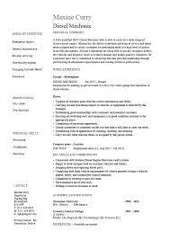Auto Mechanic Resume Templates Automotive Technician Cv Template Auto Mechanic Format Resume Sample
