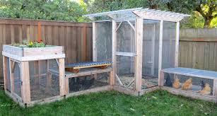 garden enclosure. Fox-Proof Chicken Run Enclosure Plans Garden