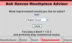 Mouthpiece Comparison Tool Bob Reeves Brass Mouthpieces