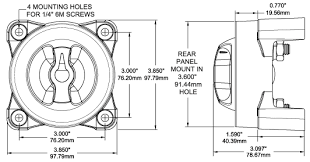 blue sea 7650 marine 4x4 vsr acr automatic charge relay dual three battery twin motor installation wiring schematic shown below