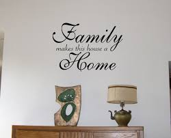 Small Picture Wall Decoration Family Wall Sticker Lovely Home Decoration and