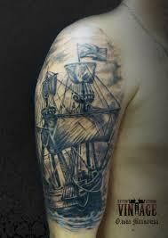 корабль на плече тату значение татуировки корабль смысл история