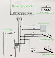 a diagram of a tutorial it is so simple access control system and two wire electric plug lock access accessories glass door lock