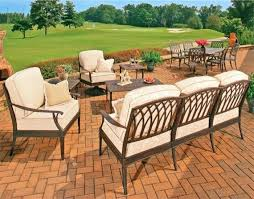 Modern Cast Aluminum Patio Chair Of All Weather Outdoor Furniture