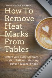 remove watermarks from wood table tops