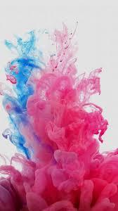 Pink Blue Liquid iPhone Wallpaper ...