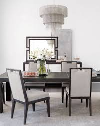 bernhardt decorage marble front dining console decorage stainless ring dining console decorage stainless trim dining table