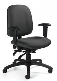 global goal low back multi tilter office chair w height adjule t arms