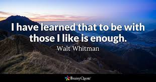 Walt Whitman Quotes BrainyQuote Inspiration Walt Whitman Quotes Love