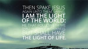 I Am The Light Daily Quote He Is The Light Of The World Inspiration