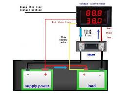 0 28 5 wires red led digital dual dc 100v 100a voltmeter ammeter htb1zjc fvxxxxxtxvxxq6xxfxxxb