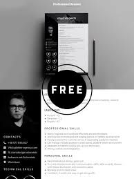 Modern Looking Font For Resume Free Modern Resume Template Creativetacos