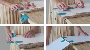 diy cardboard furniture. TapeFlips Principle Diy Cardboard Furniture