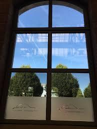 Protecfoliende Innenansicht Unteres Fenster Mit Spiegelfolie Und