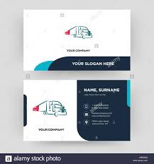 Truck Company Business Card Design Template Visiting For Your