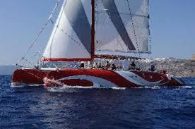 Dream Catcher Boat Santorini The Ultimate Shore ExcursionSantorini Sailing Tom Baker 16