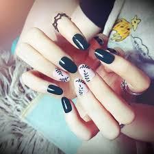 24ks Fake Nails Art Tipy Akrylové Nehty Falešné Francouzské Umělé Plné Nehty Zelené At Vova