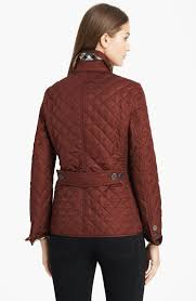 Burberry brit Copford Quilted Jacket in Brown | Lyst & Gallery Adamdwight.com